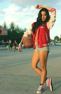 Find images and videos about girl, swag and Basketball on We Heart It - the app to get lost in what you love. Basketball Photography, Sport Photography, Photography Poses, Adventure Photography, Basketball Shorts Girls, Basketball Jersey, Basketball Court, Basketball Players, Basketball Shoes
