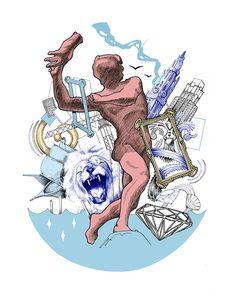 Antwerp illustration.