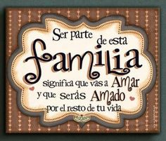 Decoupage Vintage, Spanish Quotes, Family Love, Family Quotes, Life Quotes, Interior Design Living Room, Diy Bedroom Decor, Stencils, Diy And Crafts
