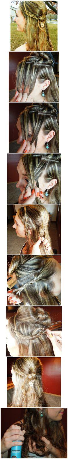 Amy_Robinson4 #festivalhair #hairtutorial #coachellahair #sexyahir #howto #DYI #Concerthair