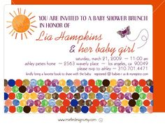 Eric Carle Baby Shower Invitations This Is How I Do Pinterest