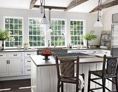 Kitchen Ideas No Wall Cabinets المطبخ متعدد الاستخدامات أبرز صيحات ديكور المنازل: عند الشروع في