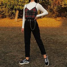 Adrette Outfits, Skater Girl Outfits, Indie Outfits, Teen Fashion Outfits, Cute Casual Outfits, Retro Outfits, Vintage Outfits, Flannel Outfits, Hipster Outfits