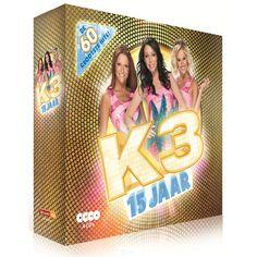 K3 CD box 15 jaar K3