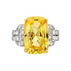 Yellow Sapphire, Betteridge Collection