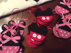 Mickey or Minnie Fish Extender Gift Ornaments by tlsloan on Etsy