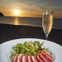Happy New Year from the staff at pureocean on #aruba #barbados #bonaire.  Join us in 2018 for endless sunsets and delicious dining.  #happynewyear #celebrate #food #drink #dining #foodie #yum #yummy #nom #nomnom #sunsets #island #discoverdivi