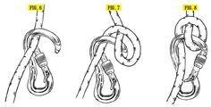 Munter-Hitch a very basic friction decent hitch for self rescue. Nudo dinámico de descenso por fricción para autorescate
