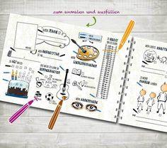 Bücher - Meine Freunde im Kindergarten - ein Designerstück von nordencreativ-design bei DaWanda
