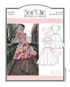 Tia Dress Sewing Pattern