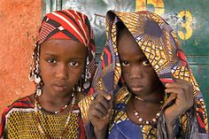 souls-of-my-shoes: Two Gorom Girls in Burkina Faso (by Steven House)