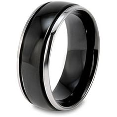 14k white gold mens wedding bands rings satin finish 8mm Wedding