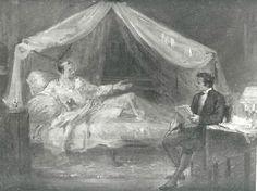 SCHEFFER Ary Napoléon à Ste Hélène dictant ses mémoires à Las Cases