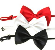 SKL Set of 3 Adjustable Dog Bow Tie Pet Collar Perfect for Wedding Tie Party AccessoriesDogSiteWorld-Store - http://dogsiteworld.com