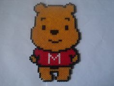 Winnie the Pooh hama perler by zabicra