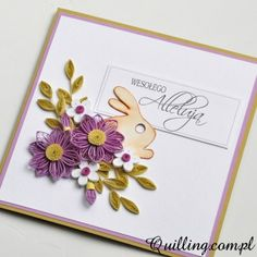 easter, quilling, greeting card, handmade, Quilling.com.pl
