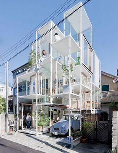 House NA, 2011, in Tokyo.