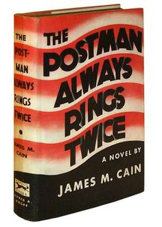 The Postman Always Rings Twice: Vintage Book Cover