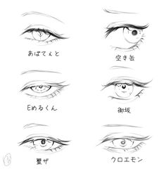 Eyes Looking Down Solution Is To Draw Pupil And Iris In An Oblong