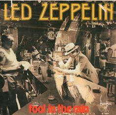 Led Zeppelin 1979 Fool On The Radio 7″ single Italy / Italia