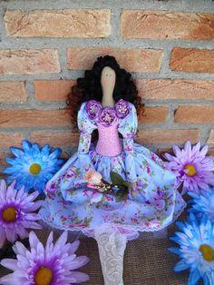 Tilda Doll Flower Girl personalized stuffed doll by MagicDolland