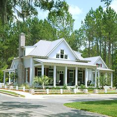 Top 12 Best-Selling House Plans My new favorite house plan. i would add a loft over the master bedroom. Cottage of the Year, Plan < Top 12 Best Selling House Plans - Southern Living Cottage Floor Plans, Cottage Style House Plans, Cottage House Plans, Country House Plans, Best House Plans, Cottage Homes, Farm House, Cottage Bedrooms, Small Bedrooms