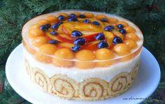 Az áfonya mámora: torta