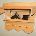 Hidden Compartment in Shelf - Firearm