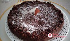 Una torta supergolosa realizzata con una frolla al cioccolato e crema al cocco. Desserts, Food, Tailgate Desserts, Deserts, Essen, Postres, Meals, Dessert, Yemek