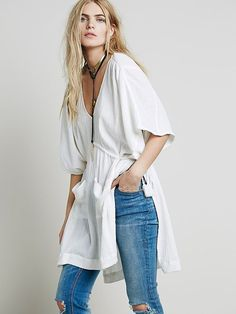 Free People Tied to Love Tunic at Free People Clothing Boutique: