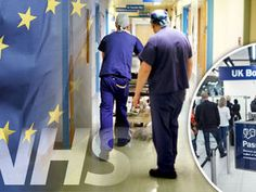 BRITAIN should leave the EU in order to save an NHS which is being overrun by migrants, according to a top cancer specialist.