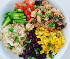 Protein Packed Chicken Burrito Bowl