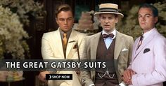 Ultimate Collection of Leonardo DiCaprio The Great Gatsby Suits Gatsby Costume, Suit Shop, The Great Gatsby, Ultimate Collection, Leonardo Dicaprio, Shop Now, The Past, Costumes, Suits