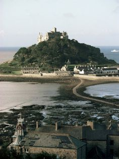 St Michael's Mount - Cornwall England. My boys loved clambering all over this Island. For me it holds happy memories as this is where I was when my brother phoned me to tell me that I was going to be an Aunt