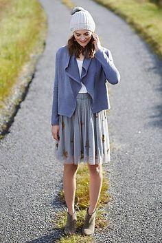Sparked Tulle Skirt