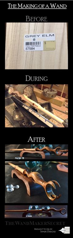 The Making of a Wand...