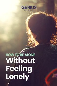 Learn how not to feel loneliness when being alone. Visit for tips that will help you feel less alone in life, increase your self love and realize that you are enough. Jay Shetty's Genius Community is your lifelong partner in well-being, with curated workshops and meditations designed with you in mind. Find purpose, peace, and success with Genius. Loneliness Quotes, Single And Happy, Finding Purpose, Positive Motivation, Love Tips, Feeling Lonely, Finding Peace, Alone, Encouragement Quotes