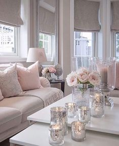 37 Cute Pink Living Room Design Ideas Disclaimer, I have no real proof that a lady would love this room I'm about to share with you, and […] Pink Living Room, Decor, Living Room Inspiration, Room Inspiration, Apartment Living Room, Living Decor, Living Room Decor, House Interior, Room Decor