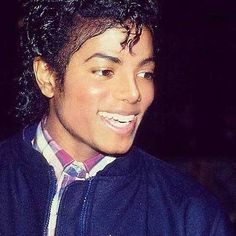 Michael Jackson - love the smile here