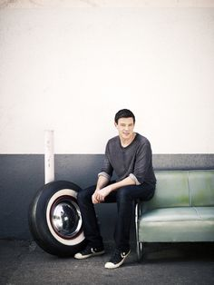 2012 Faces of Fox Campaign - Cory Monteith
