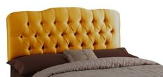 House of Hampton Cooper Tufted Shantung Arch Upholstered Headboard Size: Queen, Finish: Shantung Khaki Bed Furniture, Tufted Upholstered Headboard, Headboard, Furniture, Padded Headboard, Upholstery, Bedroom Furniture, Skyline Furniture, Headboards For Beds
