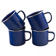 Emaliowane kubeczki Sugar Bowl, Bowl Set, Polish, Restaurant, Mugs, Tableware, Poster, Vitreous Enamel, Dinnerware