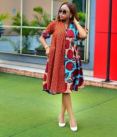 10 Elegant Ankara Styles For Ladies With The Swag | YKM media