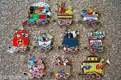 Disney-Trading-10-Pin-Set-Character-Train-Mystery-Series-Stitch-Villains-53035
