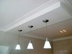 Sublime Useful Ideas: False Ceiling Ideas Lights false ceiling beams interior design. Bedroom False Ceiling Design, False Ceiling Living Room, Ceiling Tv, Ceiling Lights, Ceiling Plan, Ceiling Tiles, Plafond Design, Faux Beams, White Interior Design