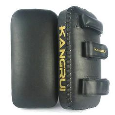 Amazon.com : KANGRUI Authentic Leather Focus Pads, MMA Boxing Kick Pads, Leather Thai Pads, Black, Price/Piece : Boxing And Martial Arts Strike Pads : Sports & Outdoors