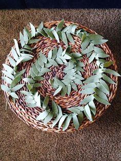 Felt Olive Leaf Garland