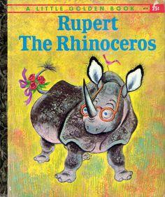 Rupert the Rhinoceros, Illustrations by Tibor Gergely, 1960-