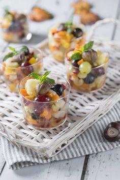 Macedonia, Sweet Recipes, Healthy Recipes, Healthy Food, Tropical Fruits, Gelato, Fruit Salad, Finger Foods, Italian Recipes