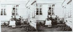 Lokalhistorisk biletsamling i Tysnes: Stereoskopisk anno 1865